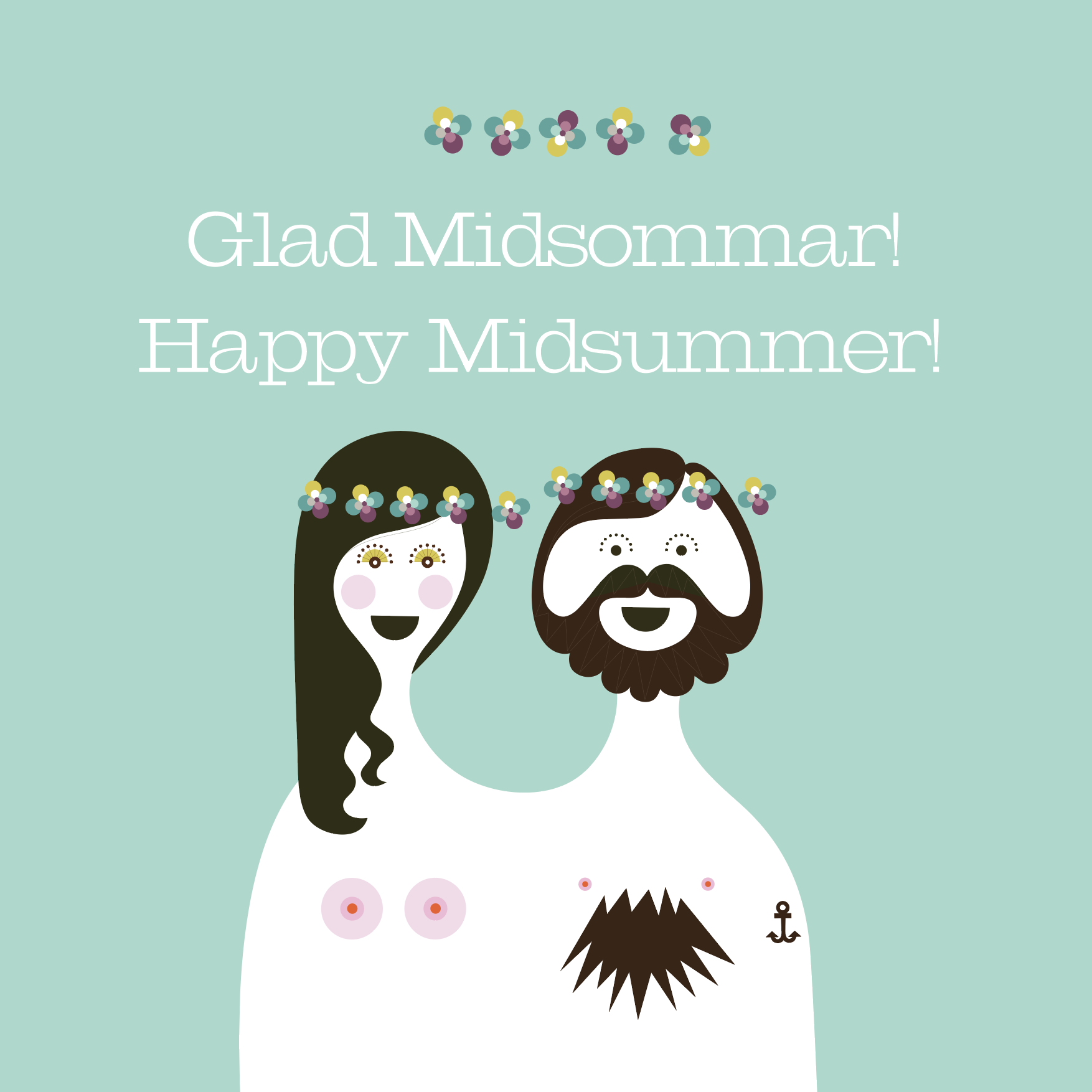 Happy midsummer! Glad midsommar!