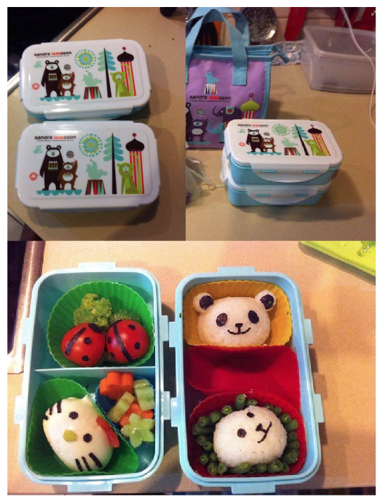 Circus lunch box fun!